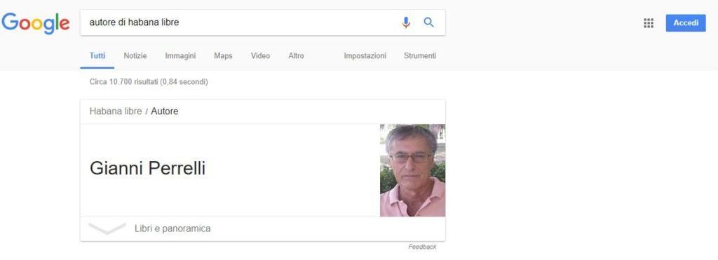 Ricerca Gianni Perrelli