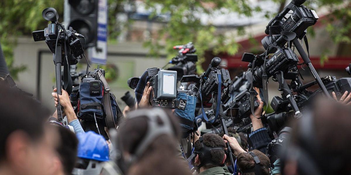 Giornalisti in azione