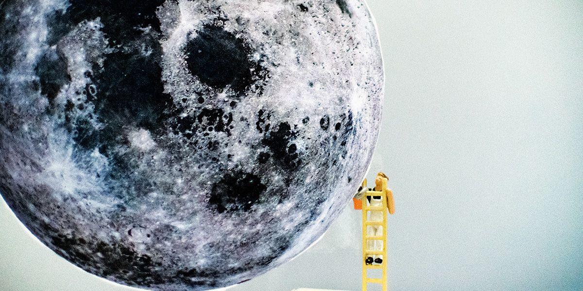 Uomo sulla luna